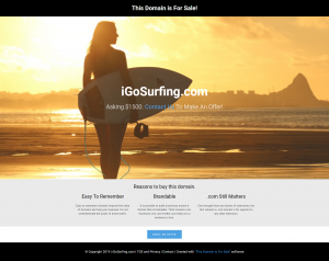 iGoSurfing.com is for sale